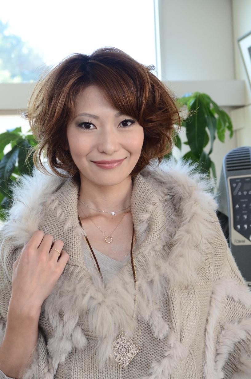 プロのモデルウォーク 松田さの様子01