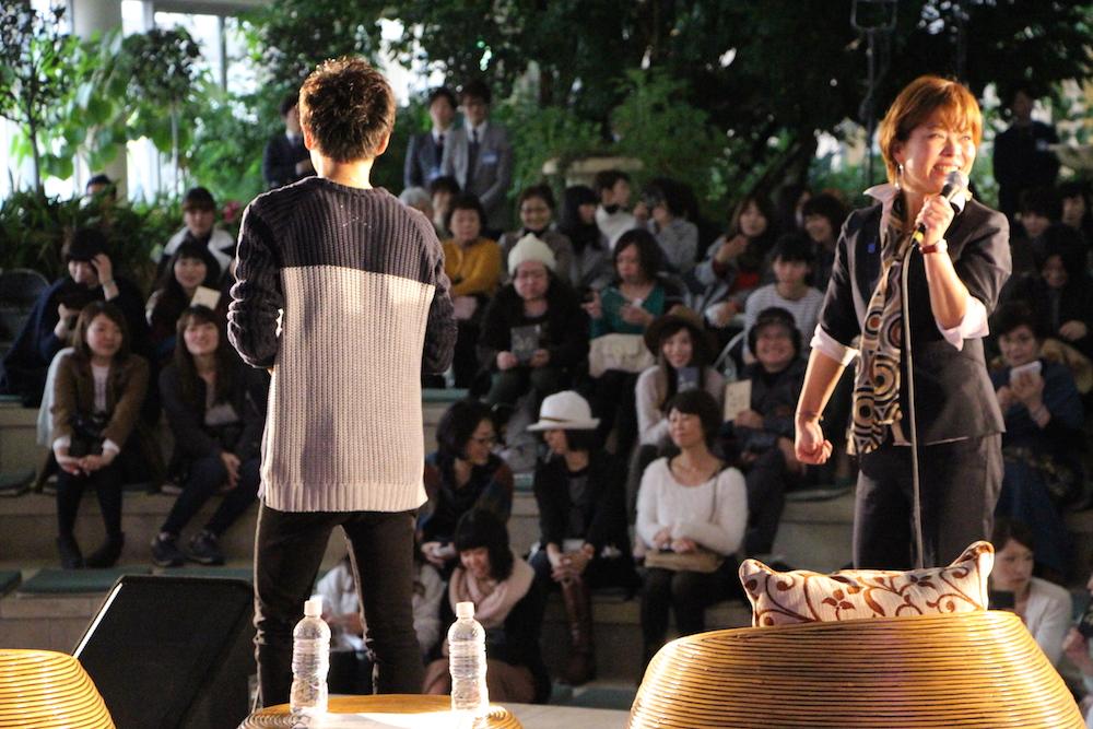 ステージ ホリスティックビューティーの様子06