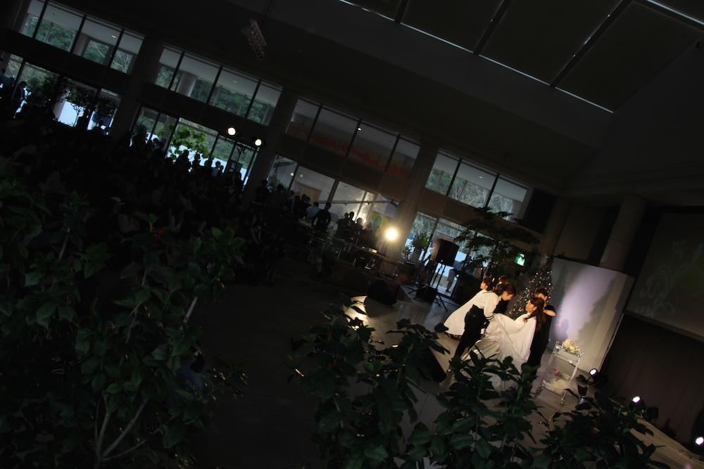 ステージ ヘア&メイクアップショーの様子07