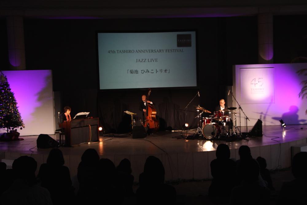 ステージ ジャズコンサートの様子02